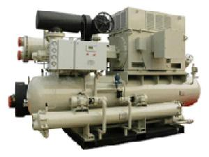 Screw Compressor Brine Chiller Unit